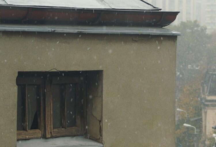 Ninge - asa se vede de la mine din sufragerie