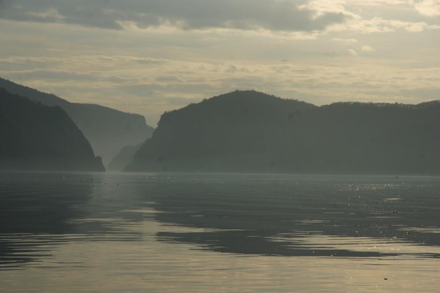Vedere din Cazanele Dunarii